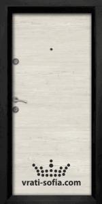 Блиндирана входна врата Ale 402, цвят Сунта