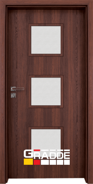 Интериорна врата Gradde Bergedorf Klasse A, SchwedischeEsche