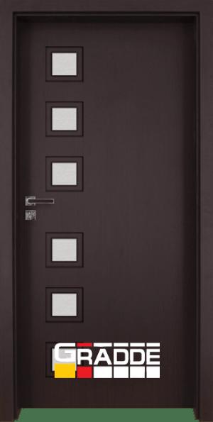 Интериорна врата Gradde Reichsburg, Рибейра