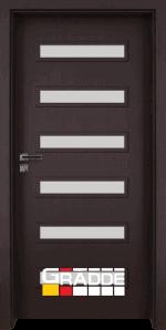 Интериорна врата Gradde Schwerin Klasse A++, Ribera