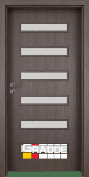 Интериорна врата Gradde Schwerin Klasse A++, Сан Диего