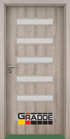 Интериорна врата Gradde Schwerin, Вералинга