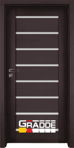 Интериорна врата Gradde Axel Glas Klasse A++