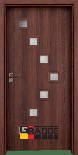 Интериорна врата Gradde Zwinger Klasse A, SchwedischeEsche