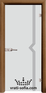 Стъклена интериорна врата, Sand G 13-3