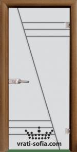 Стъклена интериорна врата, Sand G 13-4