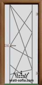 Стъклена интериорна врата, Sand G 13-5