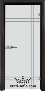 Стъклена интериорна врата, Sand G 13-8
