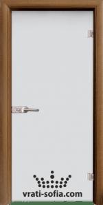 Стъклена интериорна врата, Matt G 11