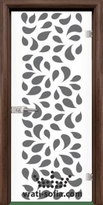 Стъклена интериорна врата, Print G 13-1