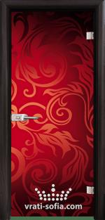 Стъклена интериорна врата, Print G 13-11