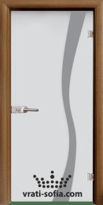 Стъклена интериорна врата, Sand G 14-1