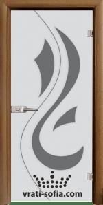 Стъклена интериорна врата, Sand G 14-10