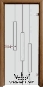 Стъклена интериорна врата, Sand G 14-11