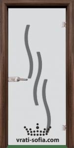 Стъклена интериорна врата, Sand G 14-2
