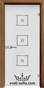 Стъклена интериорна врата, Sand G 14-3
