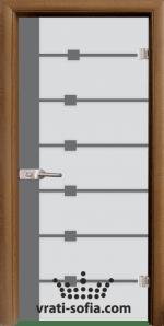 Стъклена интериорна врата, Sand G 14-5