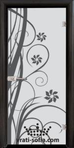 Стъклена интериорна врата, Sand G 14-7
