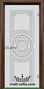 Стъклена интериорна врата, Sand G 14-8