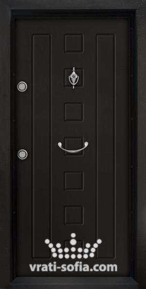Блиндирана врата T 712, цвят Африка