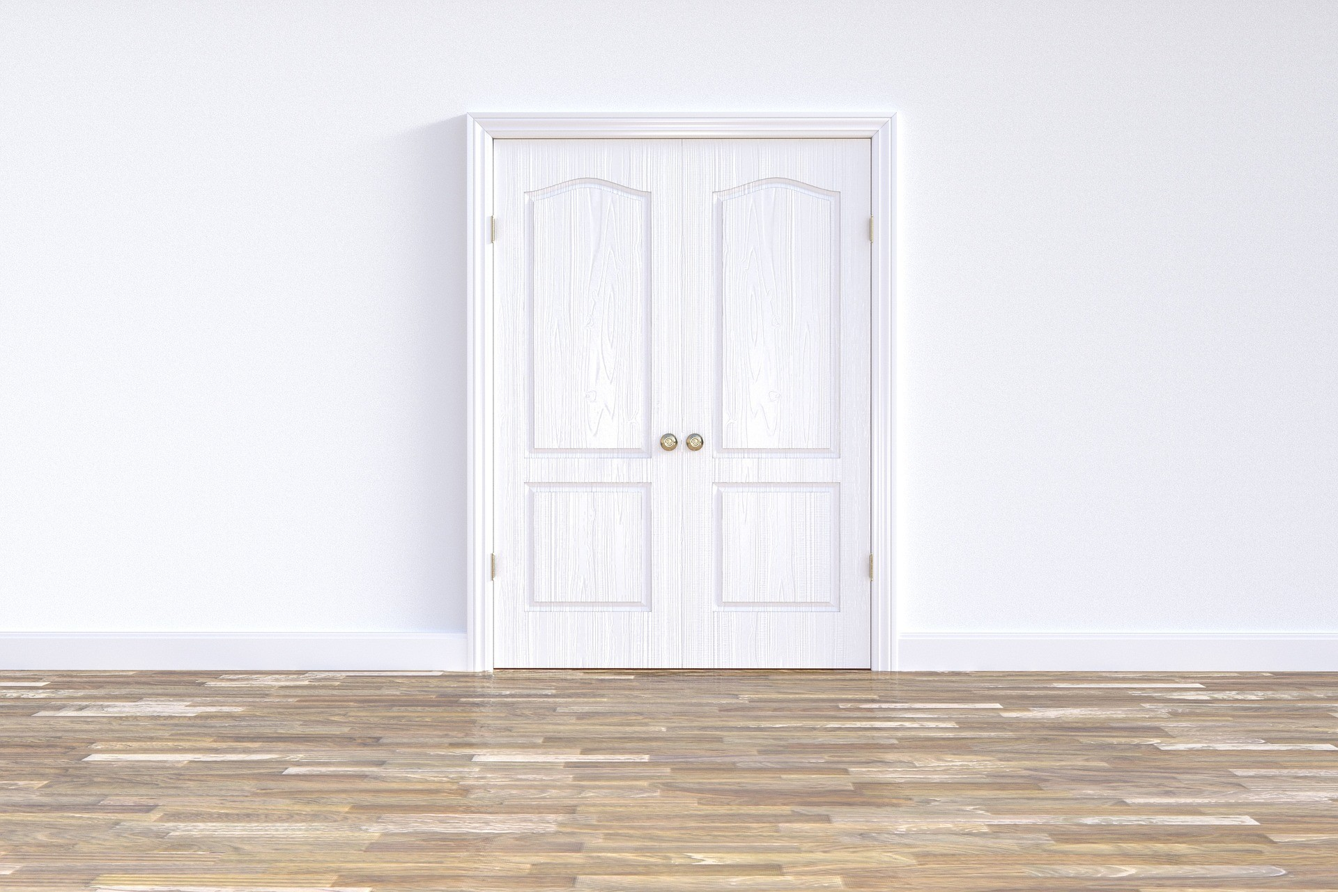 Бяла интериорна врата? Защо не?