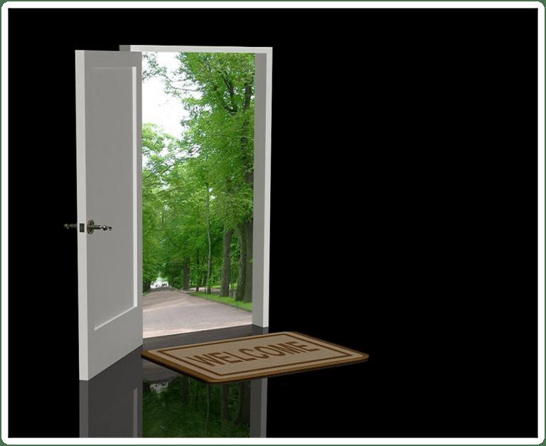 Блиндираната врата според законите на фън шуй