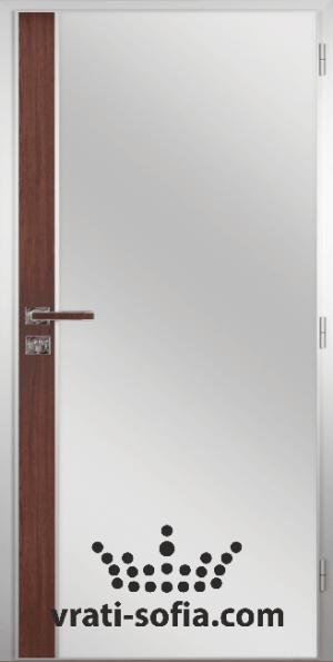 Алуминиева врата за баня – GRADDE цвят Schwedische