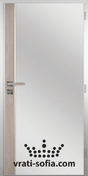 Алуминиева врата за баня – GRADDE цвят Вералинга