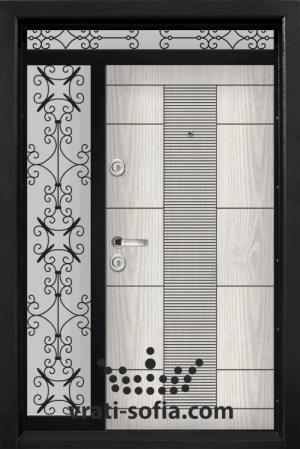 Еднокрилна входна врата Т 901, цвят Арктика