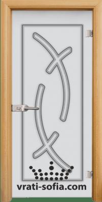 Стъклена интериорна врата Sand G 14 9 A