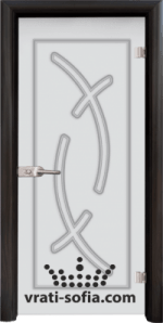 Стъклена интериорна врата, Sand G 14-9
