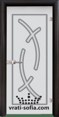Стъклена интериорна врата Sand G 14 9 B