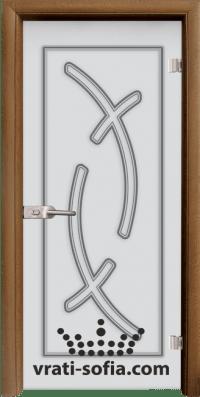 Стъклена интериорна врата Sand G 14 9 C