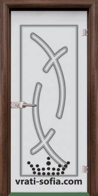 Стъклена интериорна врата Sand G 14 9 T