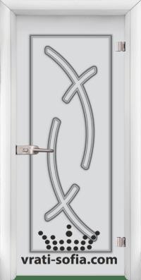 Стъклена интериорна врата Sand G 14 9 W