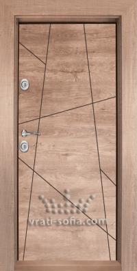 Входна блиндирана врата T 1003