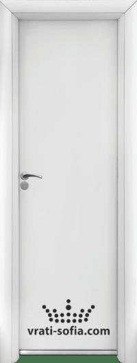 Алуминиева врата за баня Standart, цвят Бяла
