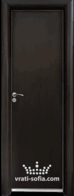 Алуминиева врата за баня Standart, цвят Венге
