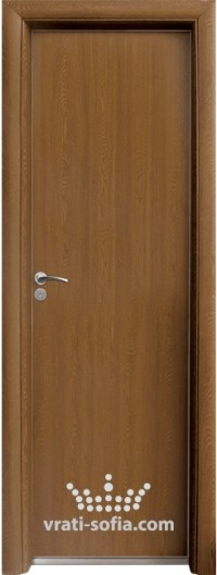 Алуминиева врата за баня Standart, цвят Златен Дъб