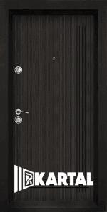Блиндирана входна врата TP 003, цвят Черна перла