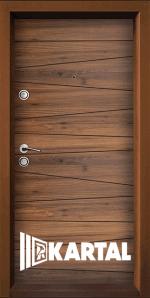 Блиндирана входна врата TP-003, цвят Савана