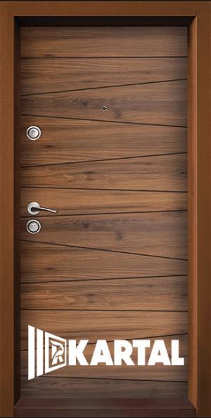 Блиндирана врата TP-003, цвят Савана