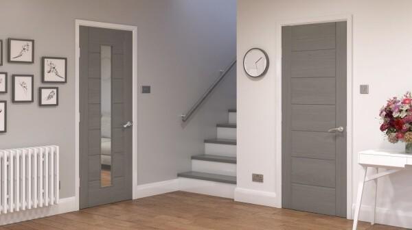 Защо координирането на интериорна врата с подова настилка е задължително?