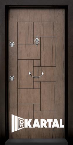 Блиндирана врата T 100 Антик 02