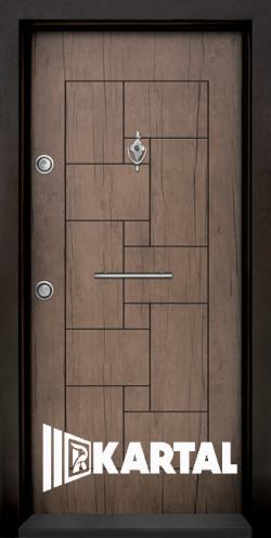 Блиндирана входна врата T 100 Антик 03