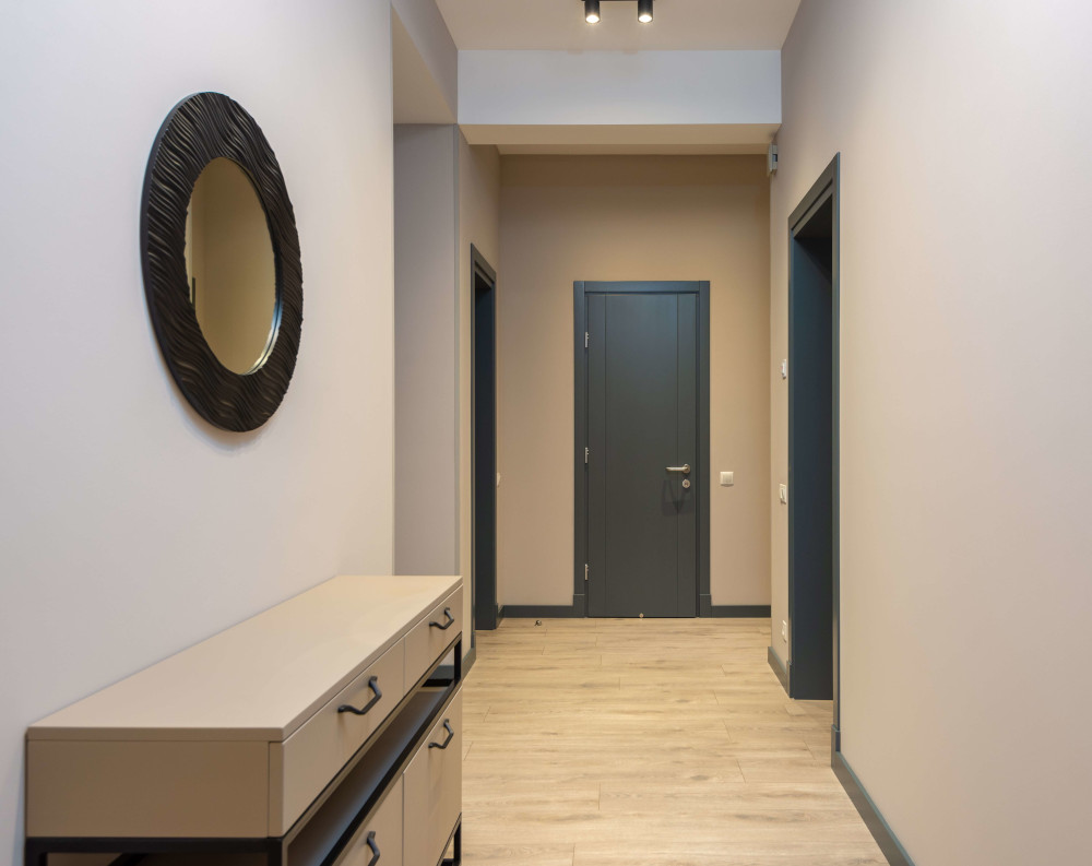 Сиви интериорни врати